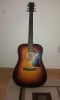 Washburn D14 acoustic guitar